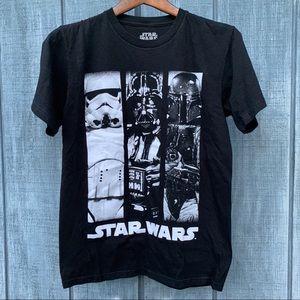 Star Wars Darth Vader T-shirt Black Size Small